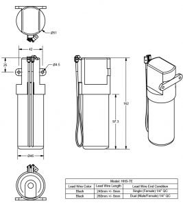 HHS-7E line drawing