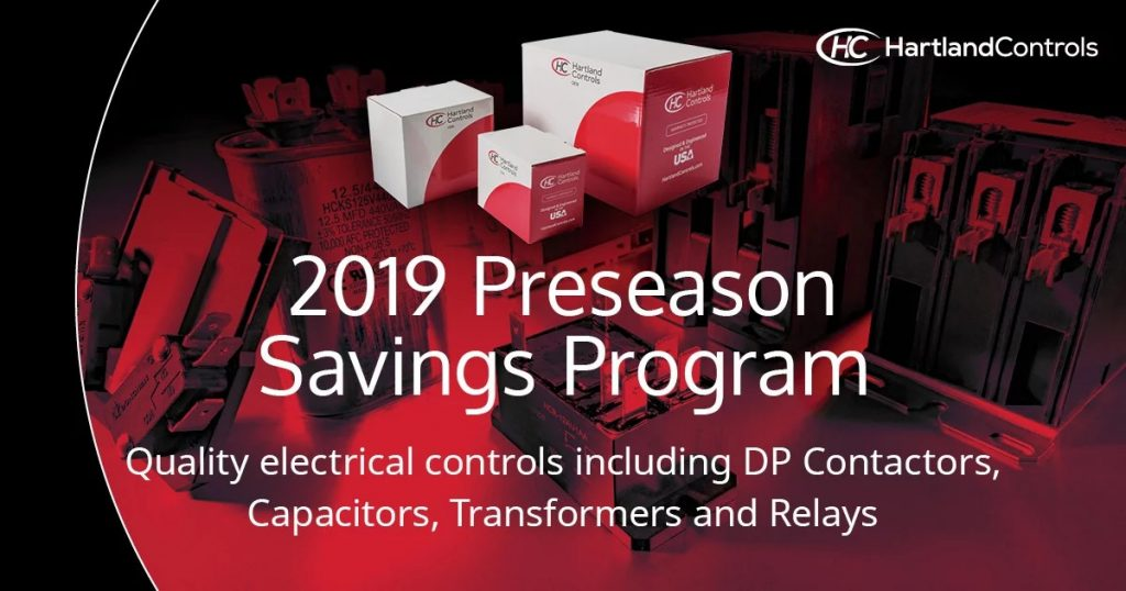 2019 Preseason Savings program