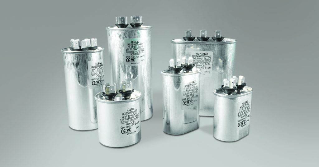Group of capacitors