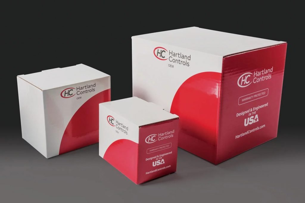 Hartland Controls retail packaging